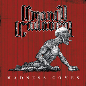 PreOrder/Release - 12 February 21.  Grand Cadaver - Madness Comes (red/black marble record)