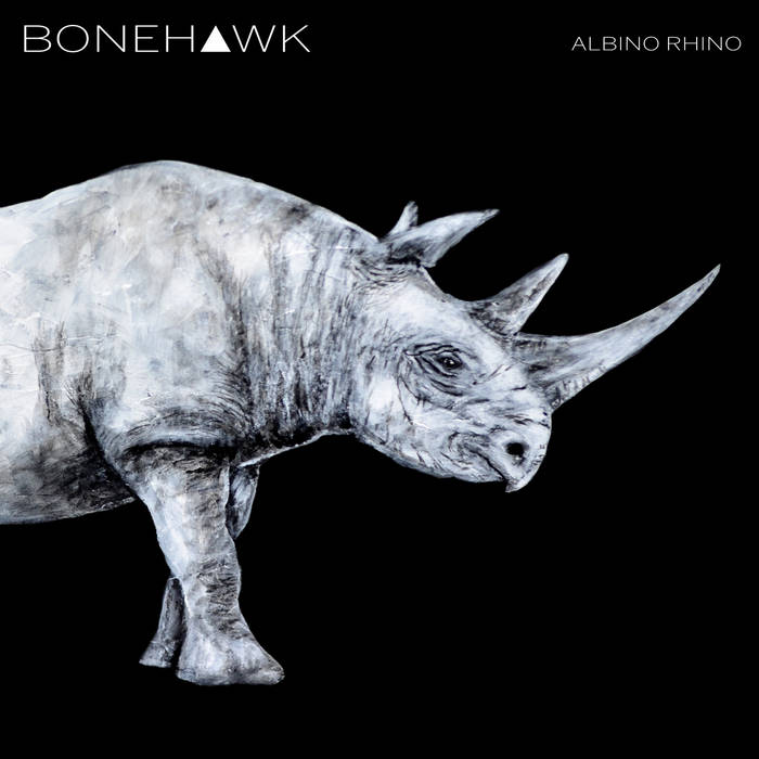 TCP Exclusive Record:  BoneHawk - Albino Rhino (compact disc)