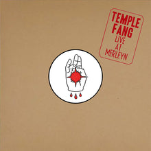 Load image into Gallery viewer, PreOrder/TCP Exclusive Record:  Temple Fang - Live at Merleyn (clear)