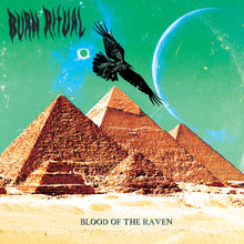 Load image into Gallery viewer, TCP Exclusive Record:  Burn Ritual - Blood of the Raven (black) *Autographed