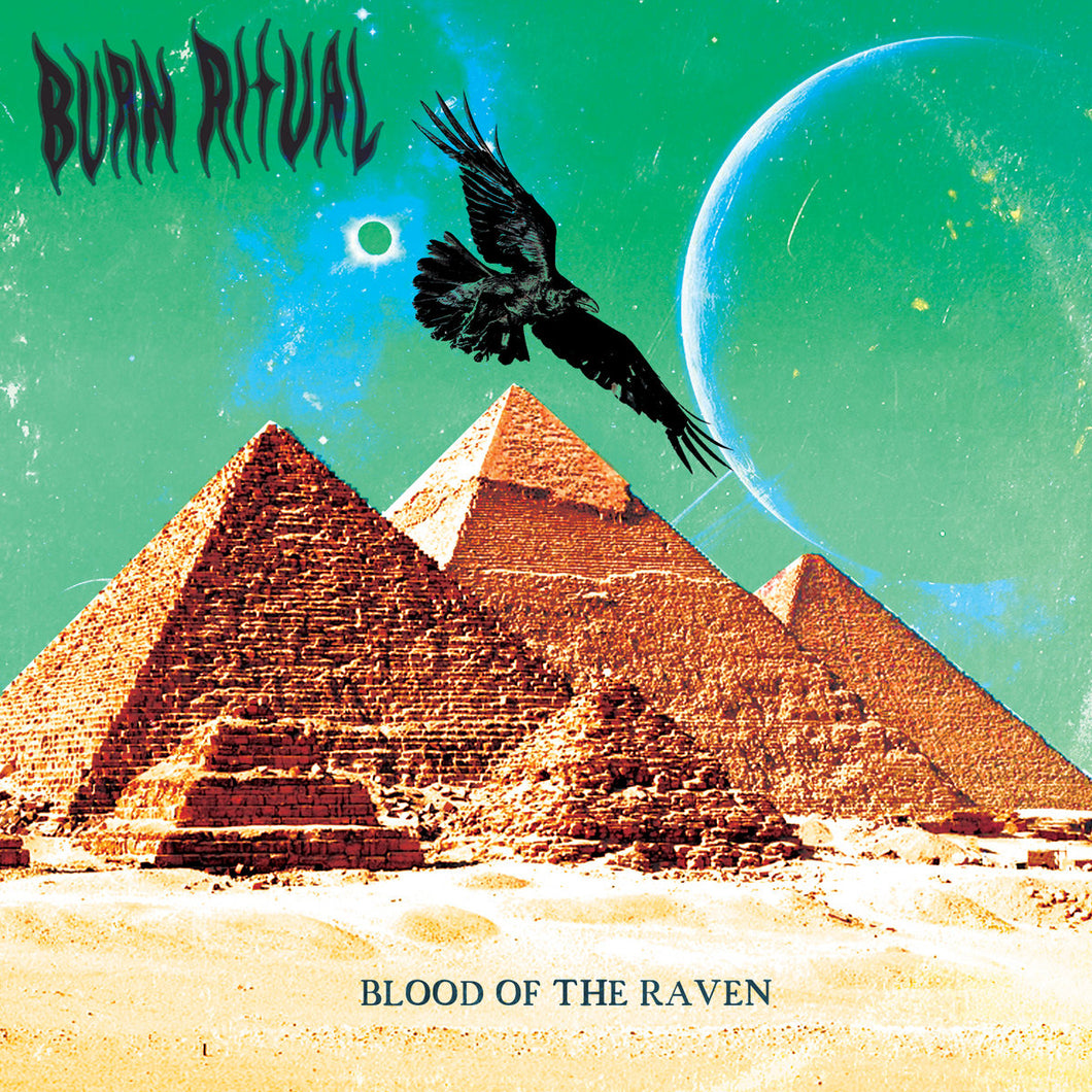 TCP Exclusive Record:  Burn Ritual - Blood of the Raven (black) *Autographed