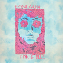 Load image into Gallery viewer, Record:  Floral Fauna - Pink & Blue (pink transparent)