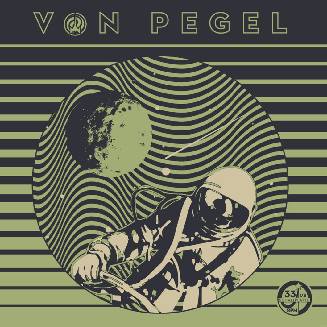 Von Pegel - Self Titled (black record) *Import