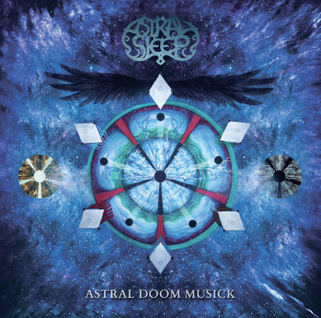 PreOrder/TCP Exclusive:  Asleep Sleep - Astral Doom Musick (black record & board game)