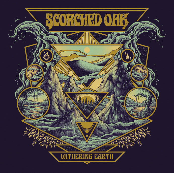 TCP Exclusive:  Scorched Oak - Withering Earth (black record)