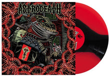 Load image into Gallery viewer, BlackFR-008:  Astrodeath - Self Titled (red/black/clear 3-stripes record)