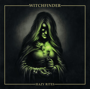 MRS-007:  WitchFinder - Hazy Rites (transparent green record)