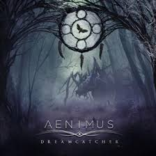 Record:  Aenimus - Dreamcatcher (blue w/white splatter record)