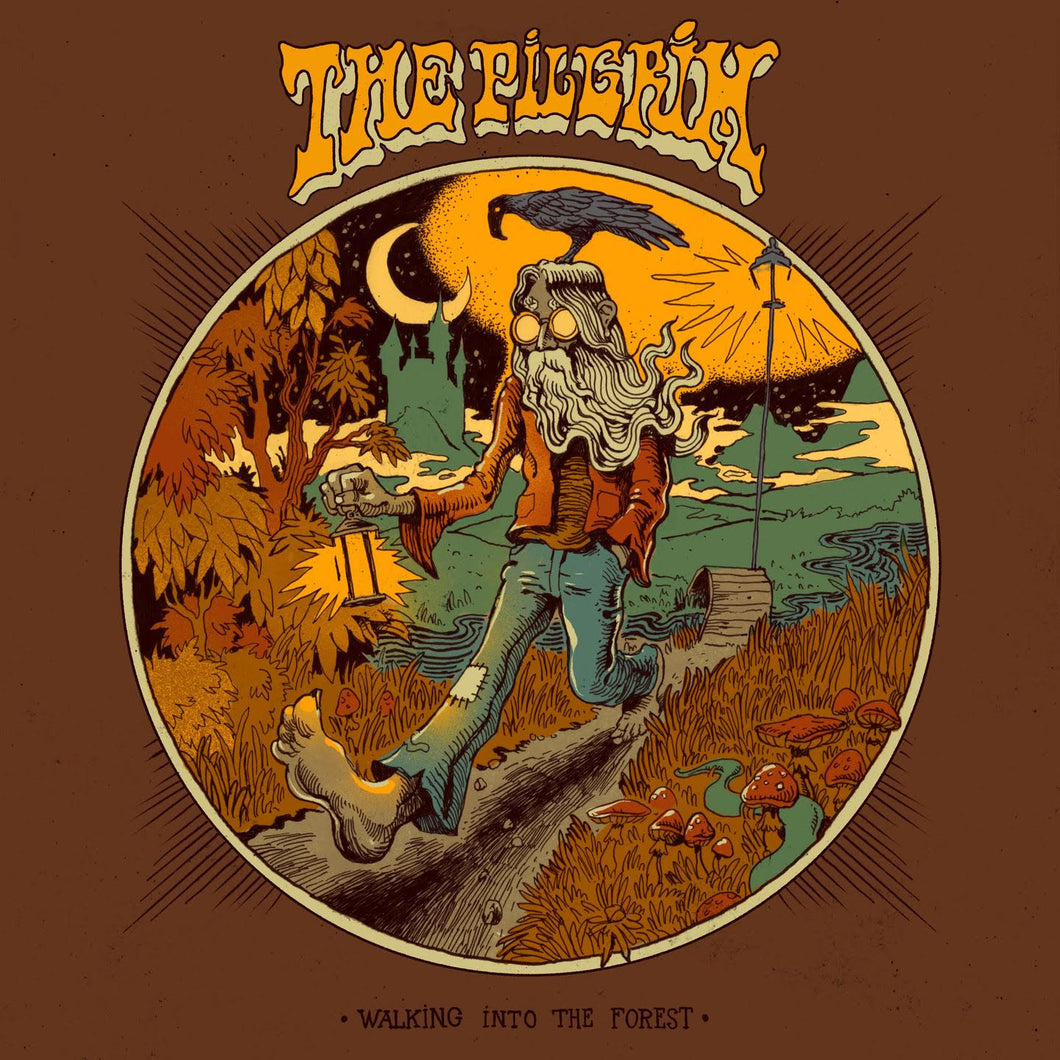 PreOrder:  The Pilgrim - Walking Into The Forest (black record) *Import