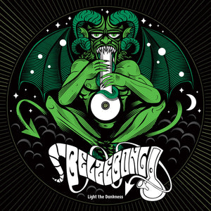 HPS-135:  Belzebong - Light the Dankness (ultra limited half white-half green record) *Import