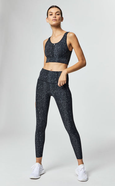 Luna Legging- Black Viper