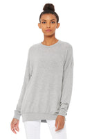 grey super soft over sized pullover