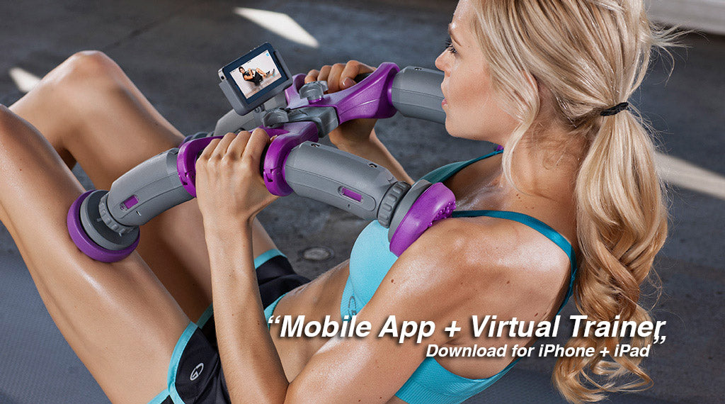 AbXcore - ab workout with Mobile Application.