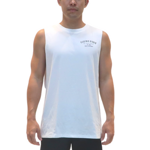 Open image in slideshow, ELECTRIC STUDIO EST. 2015 MUSCLE TEE
