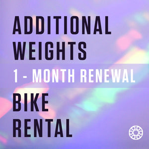 Open image in slideshow, ADDITIONAL WEIGHTS - RENTAL RENEWAL