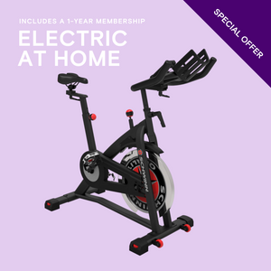 Open image in slideshow, SCHWINN IC7 + 1YR ELECTRIC AT HOME MEMBERSHIP
