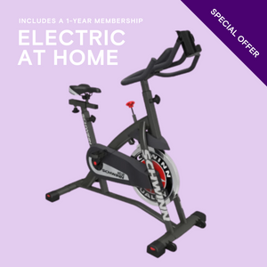 Open image in slideshow, SCHWINN IC2i + 1YR ELECTRIC AT HOME MEMBERSHIP