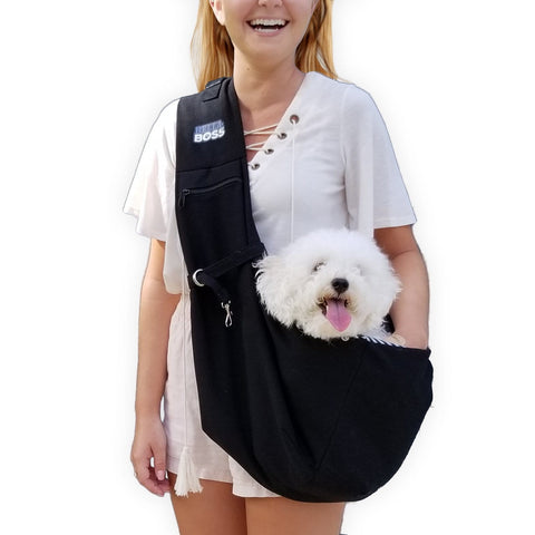 Bella+Boss Adjustable Dog Sling Carrier