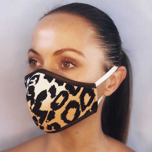 Leopard Fabric Mask