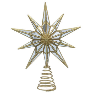 Gold/Mirror Acrylic Tree Top Star
