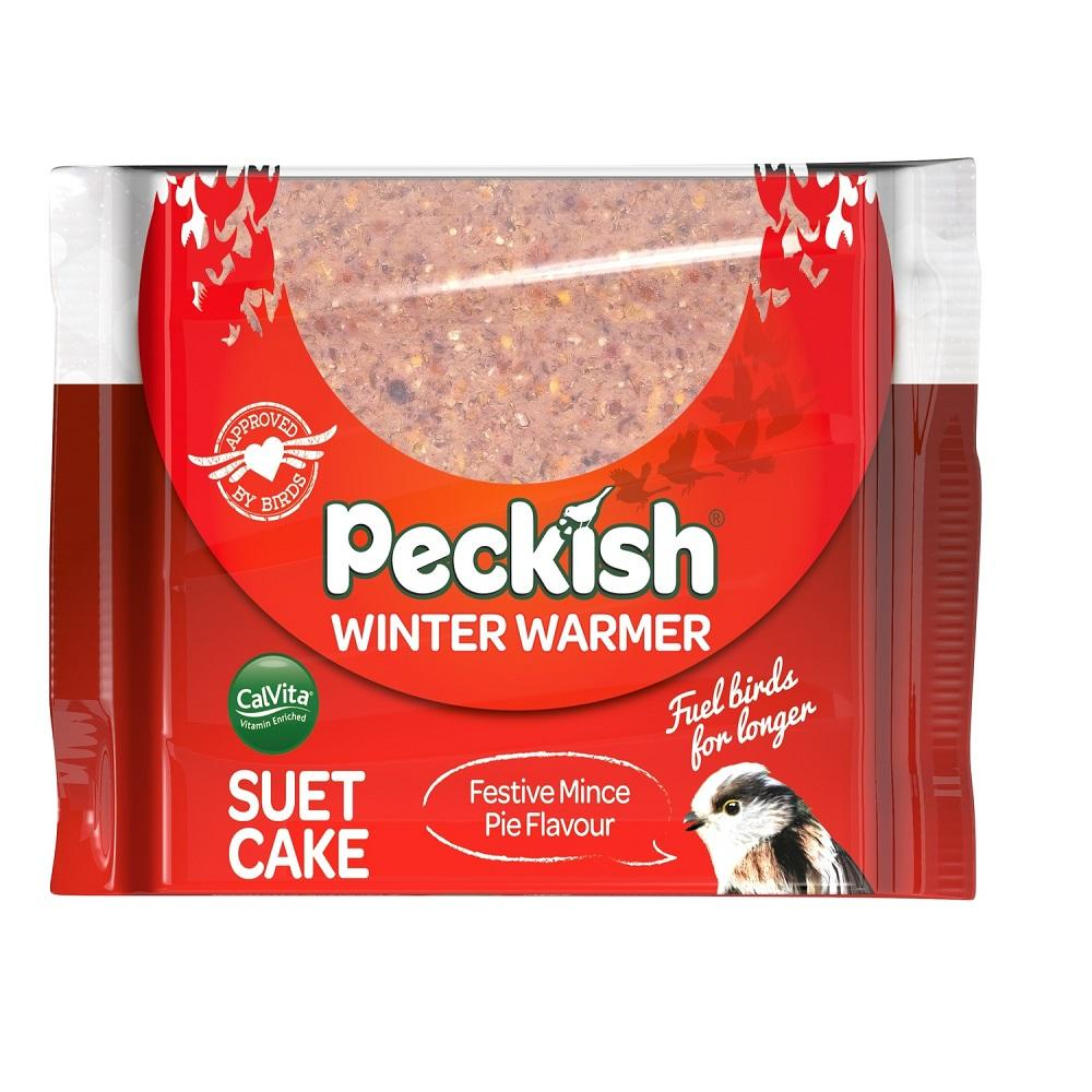 Peckish Winter Warmer Suet Cake 300g