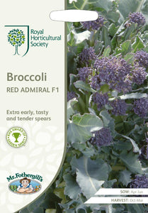 RHS- Broccoli Red Admiral