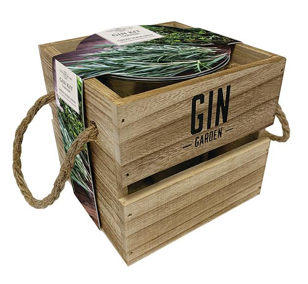 Indoor Gin Garnish Kit