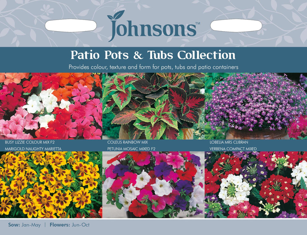 Patio Pots & Tubs Collection