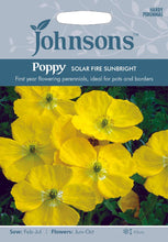 Load image into Gallery viewer, Poppy Solar Fire Sunbright