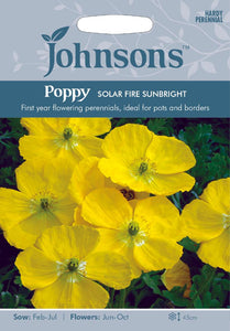 Poppy Solar Fire Sunbright