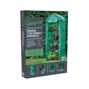 Premium 4 Tier Compact Growhouse