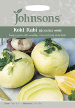 Load image into Gallery viewer, Kohl Rabi Delikatess White