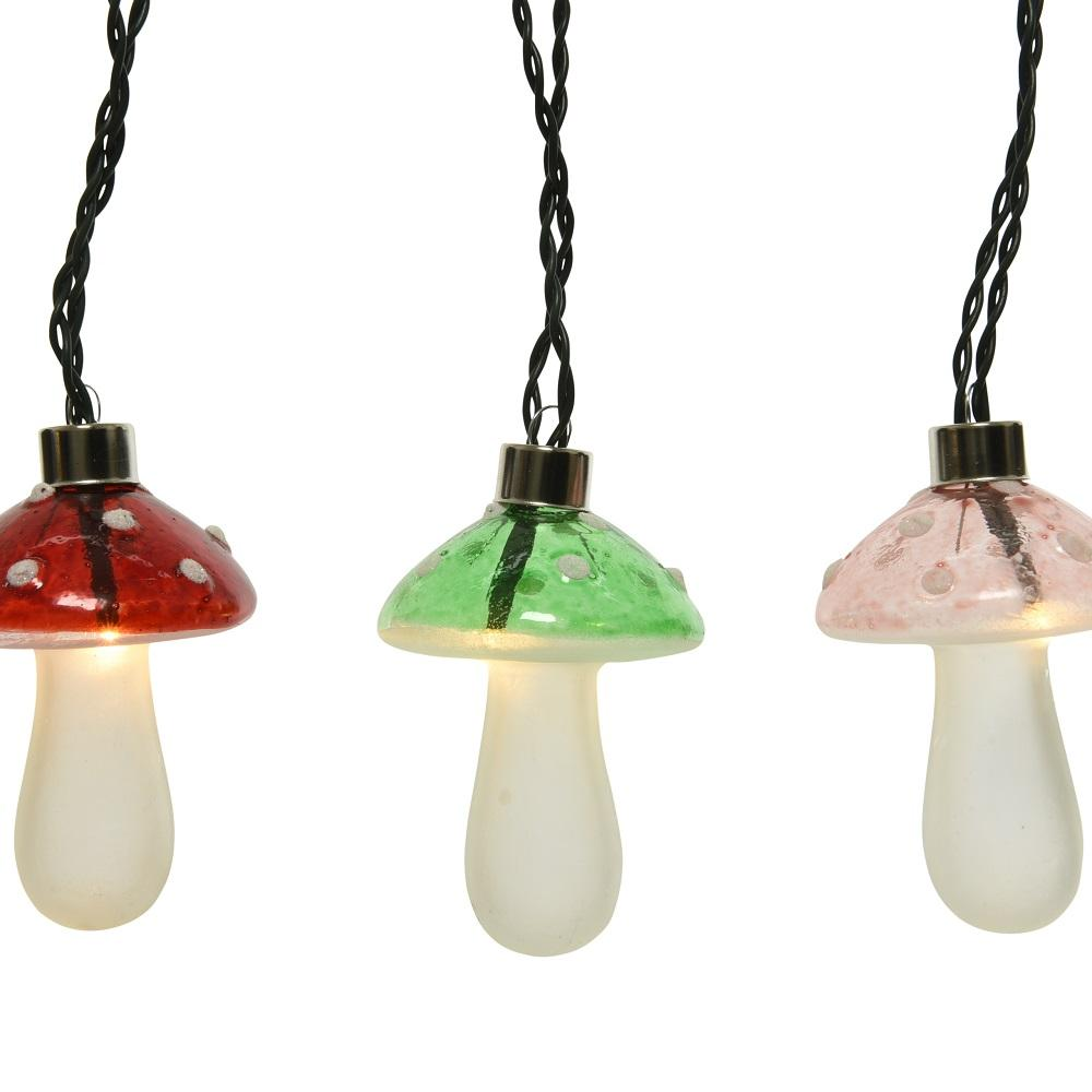 LED Vintage Mushroom Lights