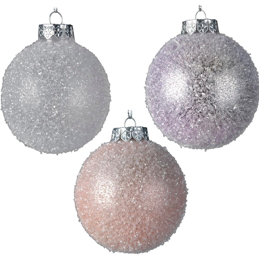 Decorative Bauble- Frosted