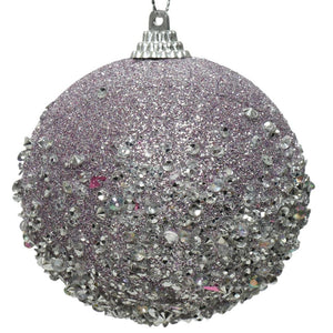 Decorative Bauble- Glitter Beads
