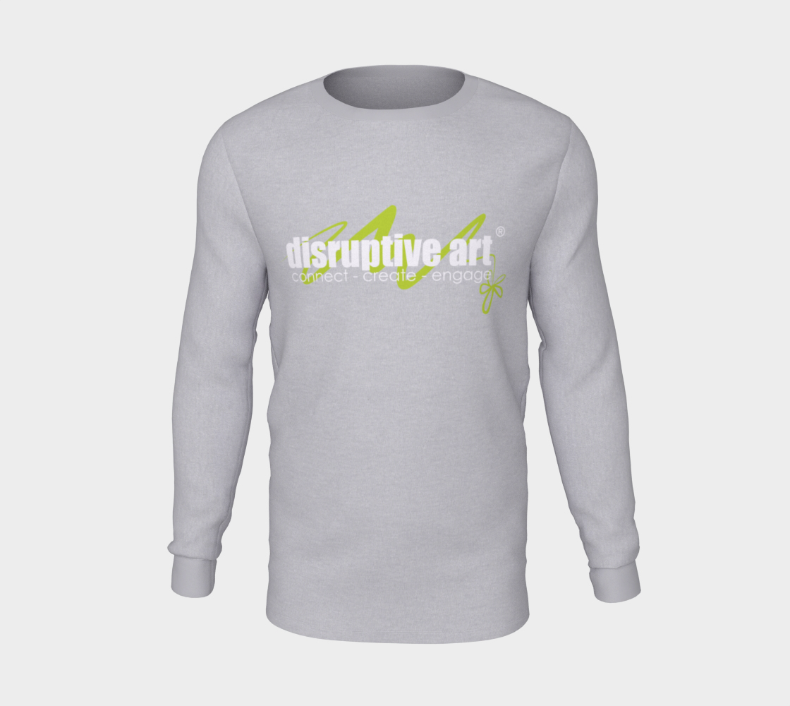 T-shirt - Long Sleeve- Unisex - Disruptive Logo