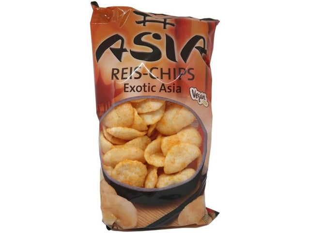 J - 4 - Asia Asia Food Xox Asia Reis-Chips Exotic - 1 x 100 g Beutel dortmund lieferung