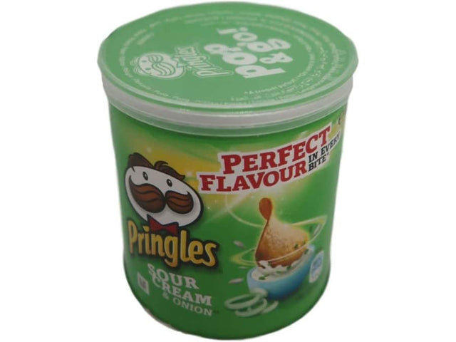 L - 14 - Chips & Snacks Chips & Snacks Pringles Sour Cream & Onion 40 g Dose dortmund lieferung