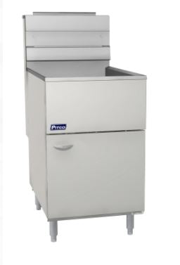 Pitco 65C+S Fryer Gas Floor Model 65-80 Lb. Fat Capacity 150000 BTU (6128250126515)