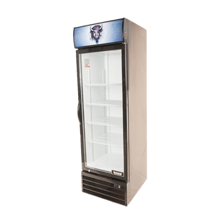 Bison BGM-15 Reach-In Glass Door Refrigerated Merchandiser 15.0 Cu. Ft. (6209234370739)
