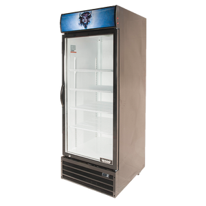 Bison BGM-21 Reach-In Glass Door Refrigerated Merchandiser 21.0 Cu. Ft. (6209236467891)