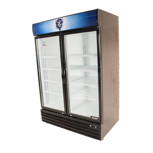 Bison BGM-49 Reach-In Glass Door Refrigerated Merchandiser 49.0 Cu. Ft. (6209246527667)