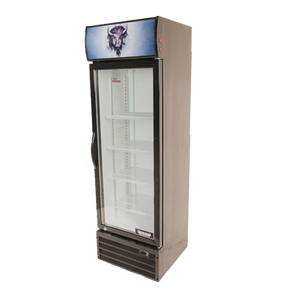 Bison BGM-8 Reach-In Glass Door Refrigerated Merchandiser 8.7 Cu. Ft. (6209207795891)