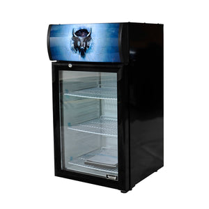 Bison BRM-1.41 Countertop Glass Door Refrigerated Merchandiser 1.41 Cu. Ft. (6209263108275)