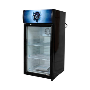 Bison BRM-2.83 Countertop Glass Door Refrigerated Merchandiser 2.83 Cu. Ft. (6209269432499)