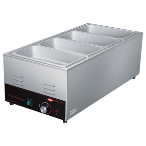 Hatco CHW-43-QS Food Warmer/Cooker Electric Countertop (4) 1/3 Pan Capacity Wet/Dry Operation (6128247505075)