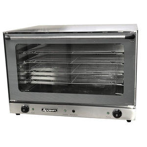 Admiral Craft COF-6400W Convection Oven Electric Full Size Countertop Steam Injection System (6131117424819)