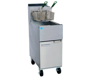 Frymaster ESG35T Value High-Efficiency Fryer Gas Floor Model 35 Lb. Capacity (6128249831603)