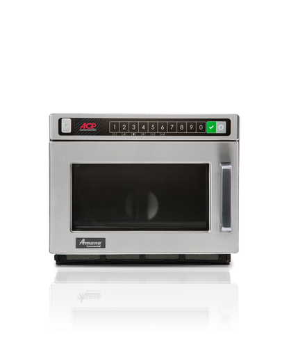 ACP HDC212 Amana Commercial Microwave Oven Countertop Stackable 0.6 Cu. Ft. Capacity 2100 Watts