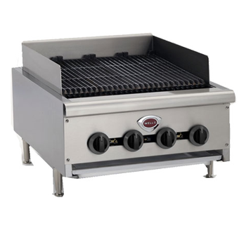 "Wells HDCB-2430G Charbroiler Gas Countertop 24""W Manual Controls"